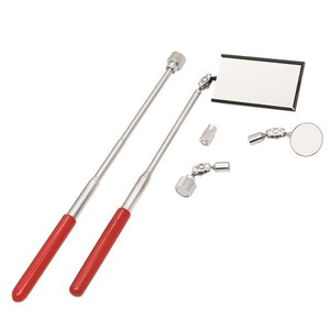 Inspection Mirror & Pick-Up Tool Set Telescopic