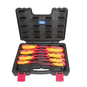 SP34042 Screwdriver Set 8 Piece Electrical In X-Case SP34042