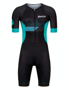 Santini Custom Sleek Short Sleeve Trisuit