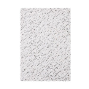 Cot Fitted Sheet Woven Cotton: TURTLES & SPOTS (NO BOX PACKAGING)
