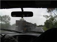 Road train roulette in the Storm Season
