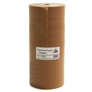 """18"""" Masking Paper Kraft Brown 400mt"""