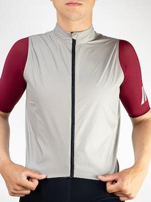 Twenty One Cycling Factory Wind Vest - Ivory - Men