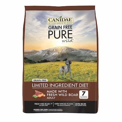 Canidae Adult Grain Free Pure Wild Dry Dog Food Fresh Wild Boar - 3 Sizes