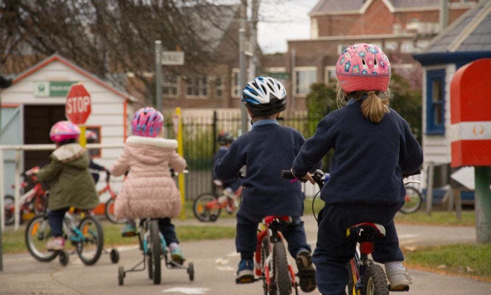 Bike School - Building Bikes and Skills