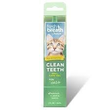 Tropiclean Fresh Breath Clean Teeth Gel 59ml Cat