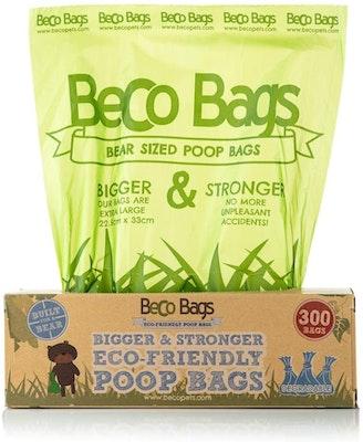 Beco Things Beco Bags Eco Friendly Poop Bags  Single Roll 300 pack