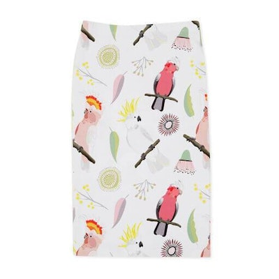 Pebble and Poppet Cockatoo Skirt