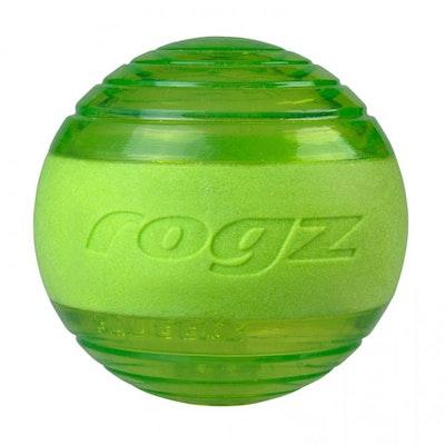 Rogz Ball Squeekz Lime