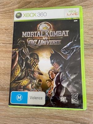 Mortal Kombat vs. DC Universe (Xbox 360, Used, No Manual)