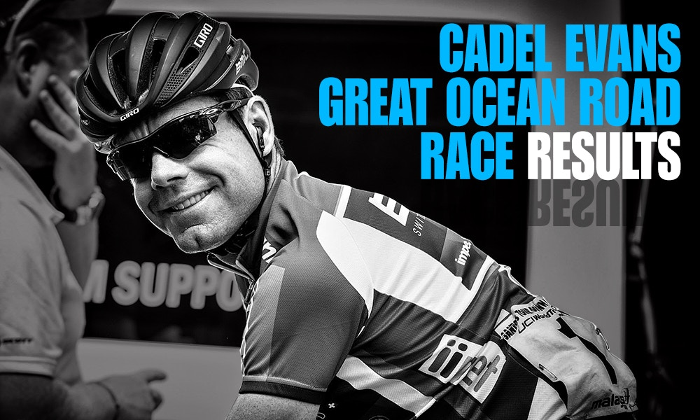 Great Ocean Road Race Results - Cadel Evans' Curtain Call