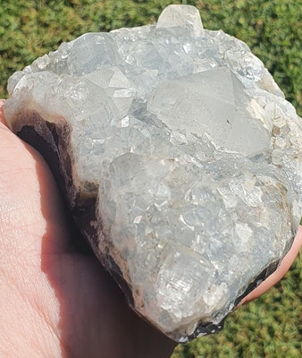 Frozen In Time Celestial Crystals  Apophyllite Cluster