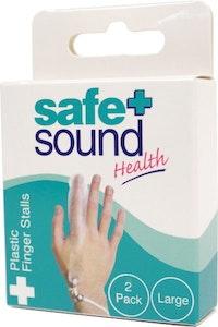 Safe + Sound Plastic Finger Stall Reusable Large