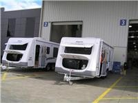 GoSee Jayco Sterlings 21ft (l) and 23ft (r).