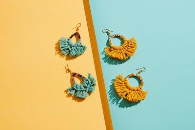 Sculptures of the Earth Macramé earrings - Mila / New 2021