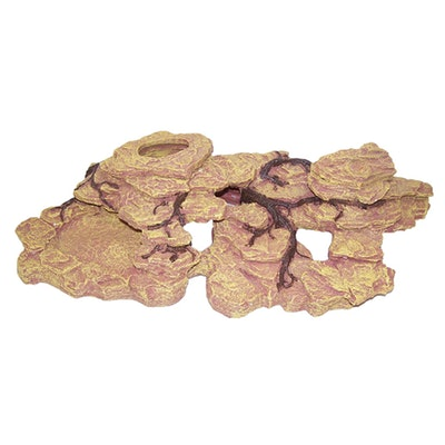 URS Slate Outcrop Root Entwined w/ Removable Bowl 62 x 35 x 16cm
