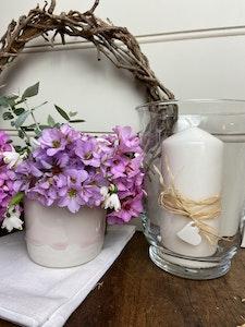 Ceramic vase - medium - Powder Pink