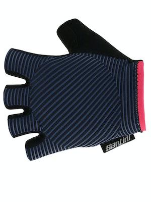Santini Mille Gloves Space Blue