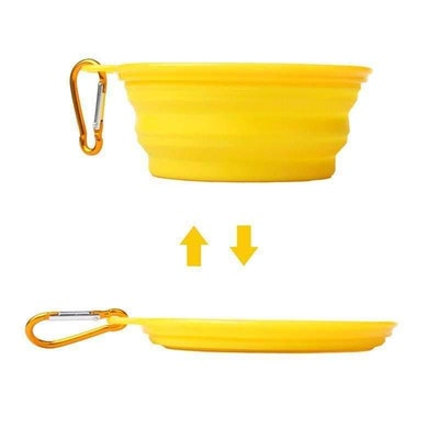 DoggyTopia Collapsible Travel Dog Bowl
