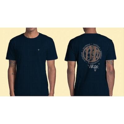 Interstellar Beverages Horoscope [MALE] T-Shirt Virgo