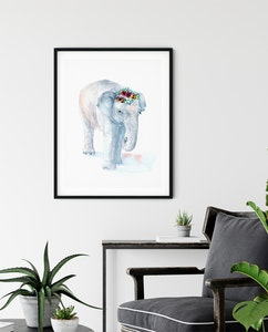 Pin The Elephant Fine Art Print