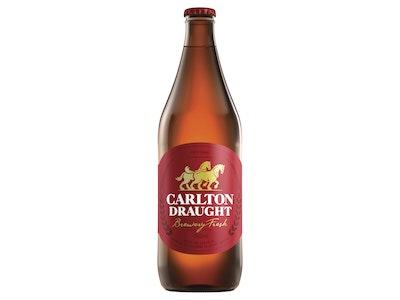 Carlton Draught Bottle 750mL
