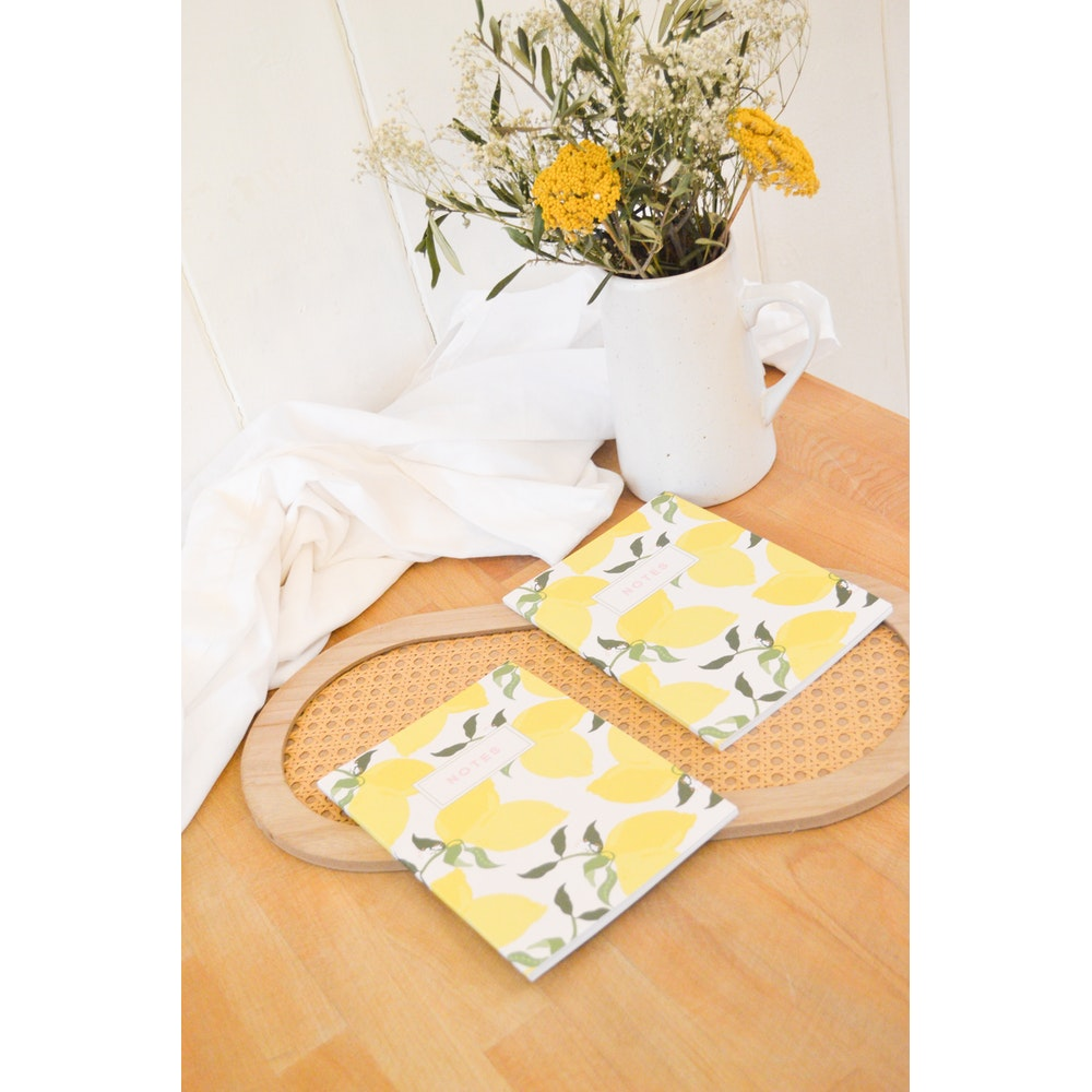 Brew Norfolk A5 Bunches Of Lemons Notebook