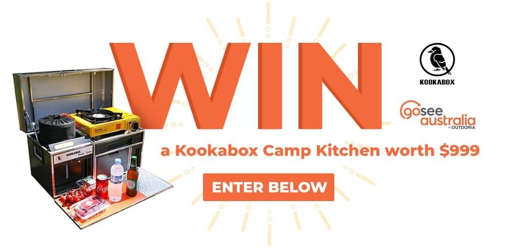 Win a portable camp kitchen