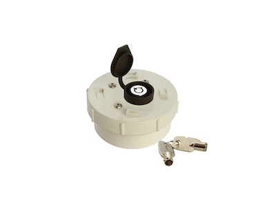 ADI Lockable Pipe Cap -90mm
