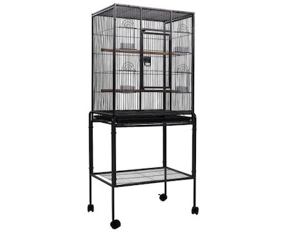 House of Pets Delight Pet Bird Cage with Feeders 144CM