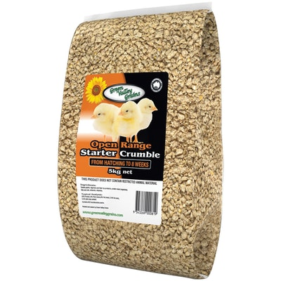 Green Valley Pullet Starter Crumbles Chick Seed Food 5kg