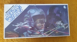 Vintage Star Wars Board game from Parker Brothers, used, complete.