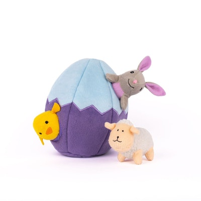 Zippy Paws Zippy Burrow - Easter Egg and Friends