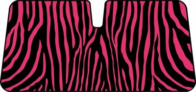 Zebra Premium Sunshade - Pink