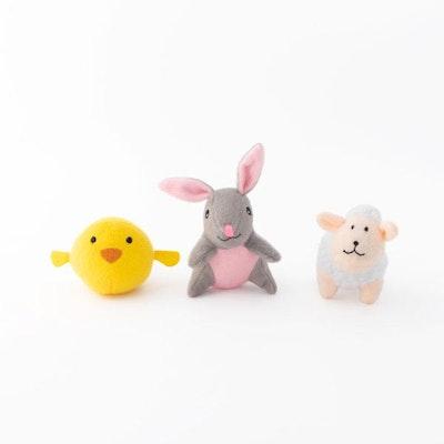 Zippy Paws Miniz Easter Friends