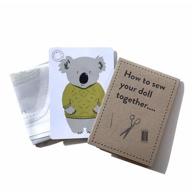 Karen Erasmus Designs Sew Together Doll – Koala