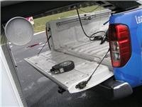 Clearance  is key  Dont reshape the Ute  Remember to open the tailgate