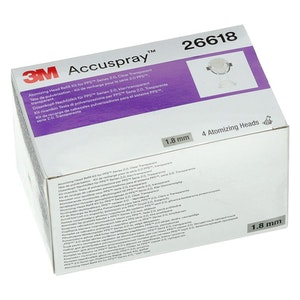 Accuspray Atomising Head, 1.8mm Clear for PPS 2.0 26618