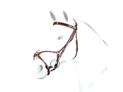 Equipe Patent Rolled Grackle Bridle