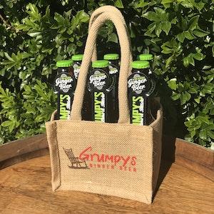 GRUMPY'S GINGER BEER - 6 PACK - Lime N Bitters