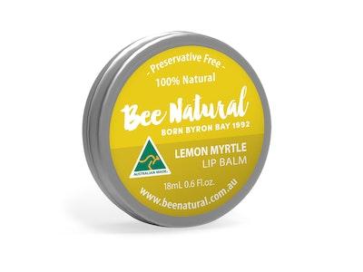 Bee Natural Lemon Myrtle LIP BALM 18mL