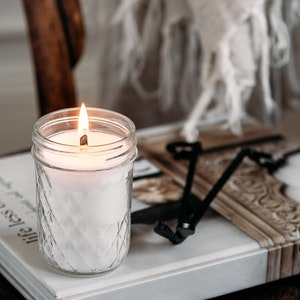 brown sugar & fig/SIGNATURE WOOD WICK CANDLE