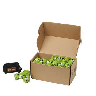 Charlie's Eco-Friendly Biodegradable Doogy Poop Bags and Pouch Dispenser - 720 Bags