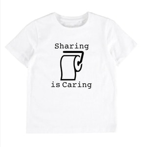 Sharing is Caring Tee - White