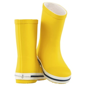 Kids' Rubber Gumboot - Yellow