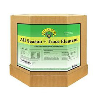 Olsson All Seasons + Trace Element Salt Lick Livestock Feed Supplement 15kg