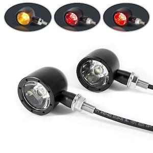 Classic LED Stop/Tail/Indicator Lights - Black