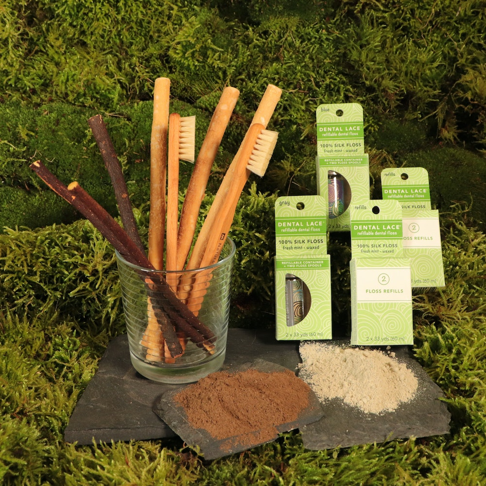 Natural Spa Supplies Teeth And Gum Care Natural Oral Care Kit