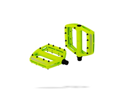 BBB CoolRide MTB Pedals Neon Yellow