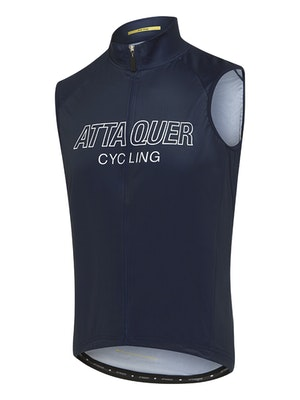Attaquer All Day Outliner Gilet Navy